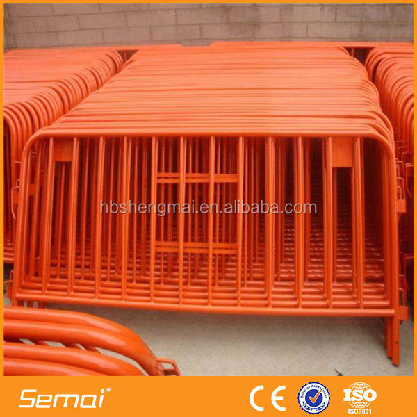 Alibaba China Manufacturer Cheap Galvanized Crowd Control Barrier Price