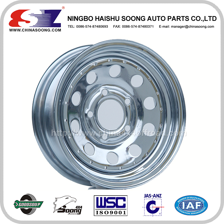 Strict Balancing Control High Standard Stainless Steelsteel truck wheels/steel off road wheels