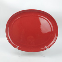 Terracotta Tableware Flat Round Red <strong>Plate</strong>