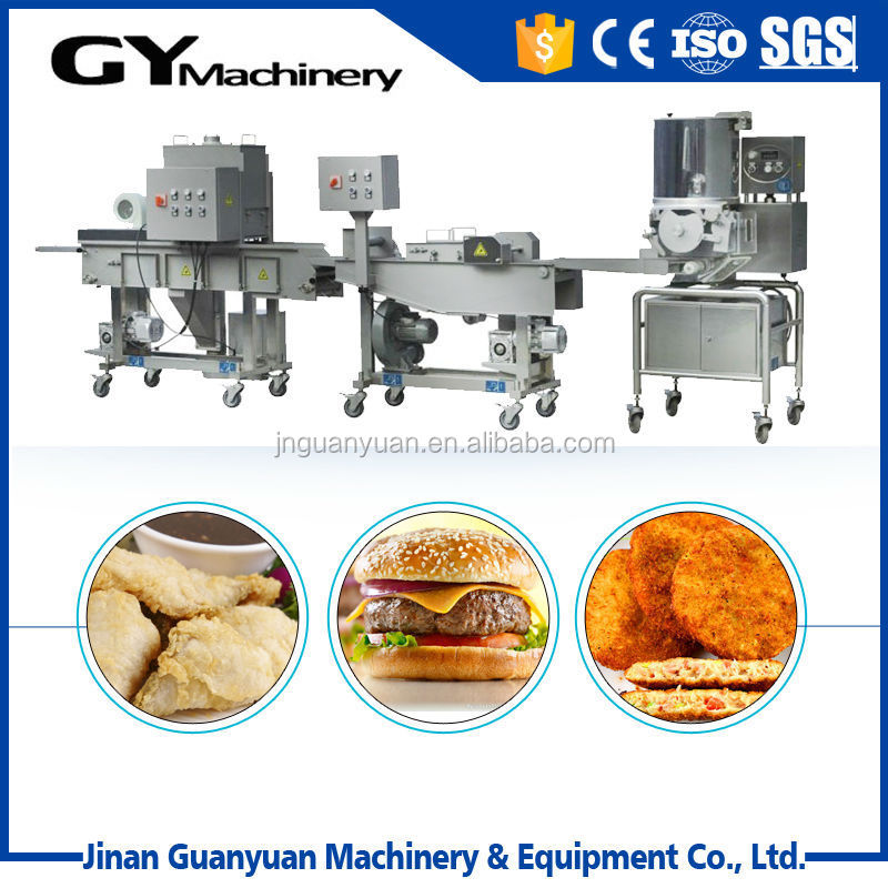 High demand and capacity meat/beef/chicken burger processing line in Jinan