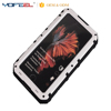 Stylish Outdoor Water Resistant Aluminum Cell Phone Case For Iphone 7 IP68 Back Cover