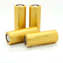 26650 4000 lithium ion battery
