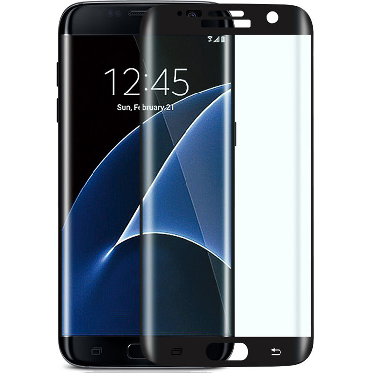 Curved Edge Full Cover TPU Transparent Screen Protector For S7 edge