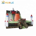 China supplier weapon outdoor large pvc inflatable kids slide
