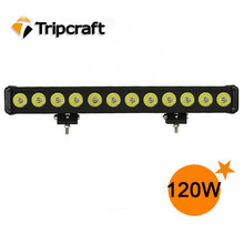 "Newest CREES Auto 12v Led driving lights 120W LED LIGHT BAR IP67 waterproof Offroad 22"" 120w Led offroad light"