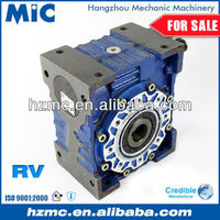 NRV110 Worm Drive Geared Speed Reductor Box for AC Motor