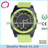 Meticulous design fashion style shock resistance pastel alloy case best sports watches for men 2013