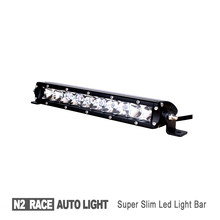 N2 wholesale Super Slim Single Row Automotive accessory and parts led tractor work light 51W 4x4 running lights