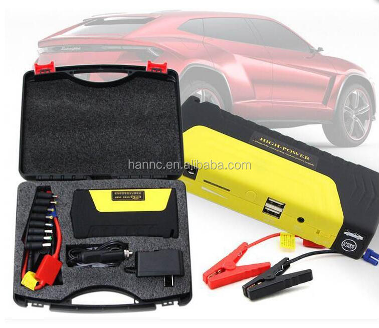Multi-Function Car Jump Starter 12,000mAh Power Bank LED Flashlight Mini Portable Vehicle Emergency power plus car batteries
