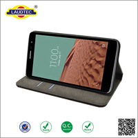 Bookstyle PU leather case cover for LG L Bello , Cellphone case with Stand Card Slots ---------Laudtec
