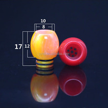 2016 newest best quality penis drip tip 510 glass curved e pipe mouthpiece for vapor