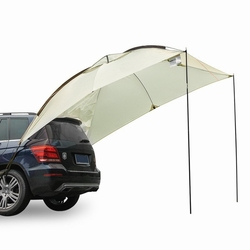 Easy Set Up Camping Car Awning Camper Trailer Roof Top Family Tent for Truck Beach for all SUV MPV Anti-uv Tents canopy