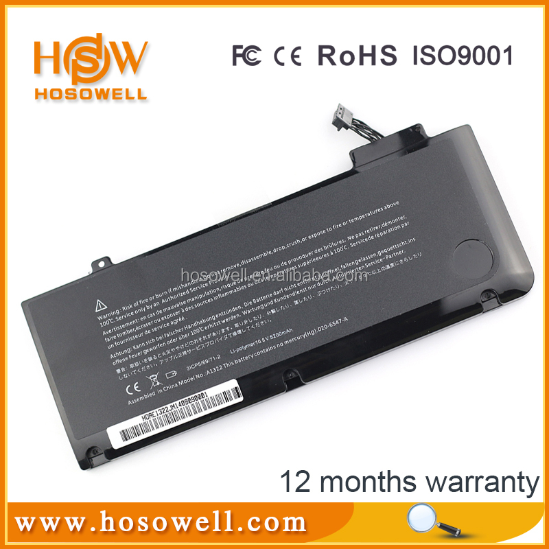 Laptop battery for apple macbook pro a1322 MacBook Pro 13""
