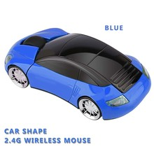 New Fashion Infiniti Sports Car 2.4GHz Wireless Mouse 1600DPI Optical Gaming Mouse Mice for Computer PC