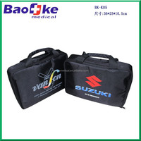 BK Manufacture 2016 Hot Sale Custom CAR First Aid Kit With safety vest and safety triabgle
