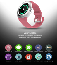 Hot sale CE ROHS smart watch manual oem Y1 bluetooth support SIM card elegance in design