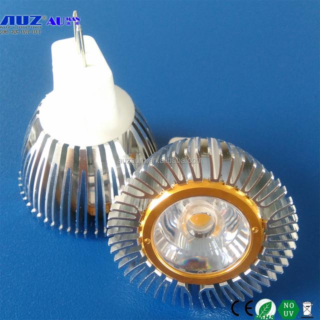 High power Dimmable LED spot lamp MR11 3W G4 cob spot light