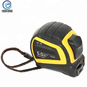 Rubber steel measure tape waterproof tape measure