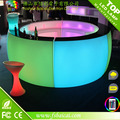 Green red blue yellow white color modern led bar counter