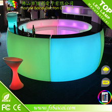 Green red blue yellow white color modern bar / led bar counter