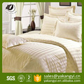Cheap Cotton White Stripe King Size Flat Sheet Sets On Sale