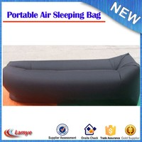 2016 outdoor camping 3 season fast inflatable lay's bag wholesale sleeping bag