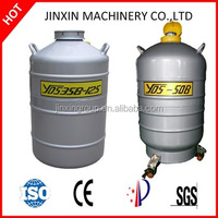 New condition transportation used Liquid nitrogen biological container low temperature freezer with ISO confirmed