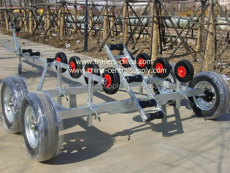 5.3m boat trailer BCT2000 with double axle
