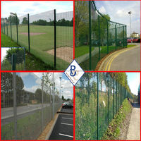 anti climb graffiti 358 security fencing for airport
