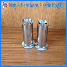 hot sale manufacturer electroplate metal chrome legs for furniture