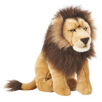 Cute Logo Branded Promotional lion stuffed animal