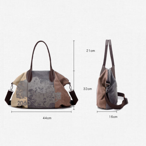 Women Handbag Creative Design Travel Messenger Small Size Large Capacity Fresh Single Shoulder Canvas Tote Bag