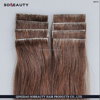 "Beauties Factory 20"" Tape in Skin Weft 100% Remy african american human tape hair extensions"