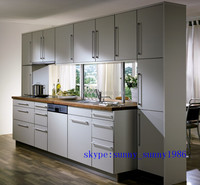 High gloss integreted lacqure kitchen cabinets for sale