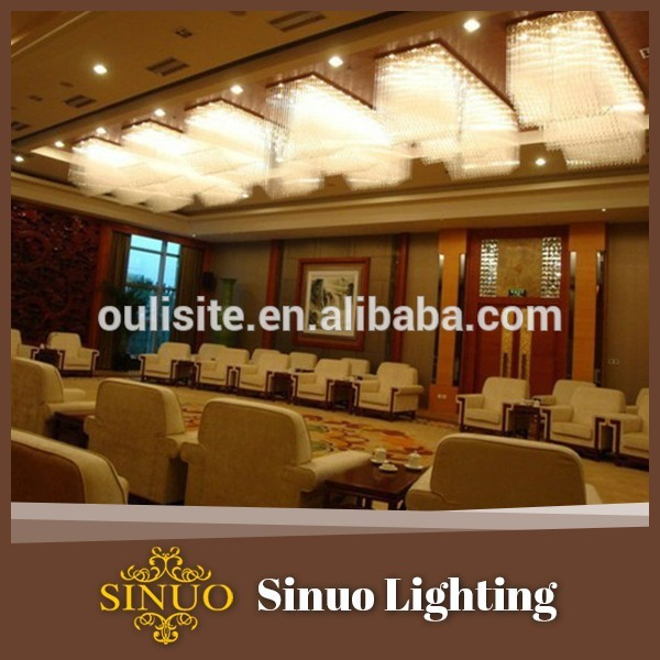 Semi ceiling crystal lights silver star lighting