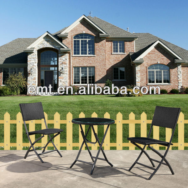 Exquisit Roots rattan outdoor furniture (EMT-1260C&1260DT)