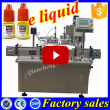 Advanced technology 150ml e-cig oil filling packing machine