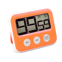 Wholesale Mini LCD digital countdown timer magnetic electric kitchen timer