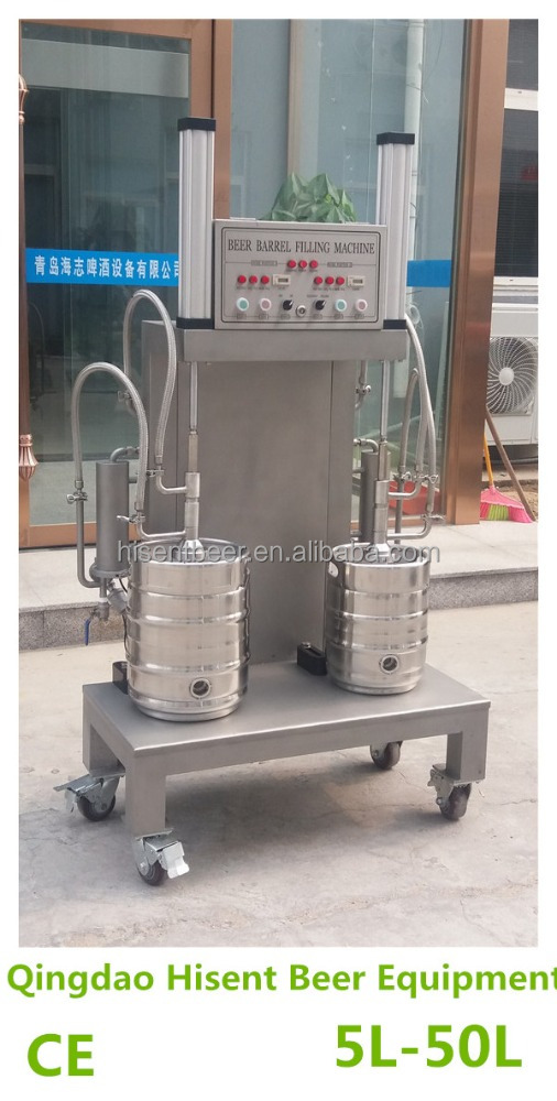 Hot selling small beer liquid canning filling machine
