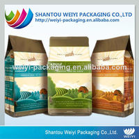 Aluminum foil laminated plastic horse feed bags with custom printing