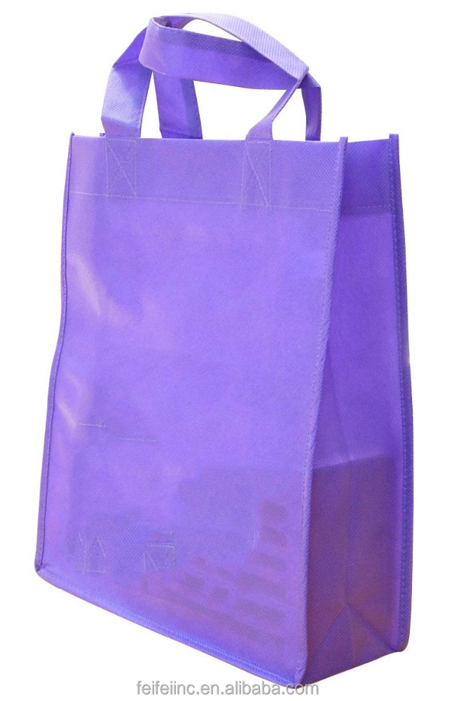 Supermarket non woven shopping carry bag/gift bags
