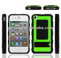 Silicone gel rubber case cover for iphone 4s,Hybrid UltraThin silicone Combo Rugged Rubber Soft PC Bumper Case Cover for iPhone