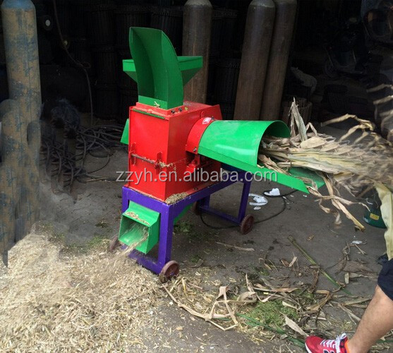 New design grass chopper machine for animals feed/ chaff cutter