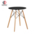 Black painted MDF top dining table for sale