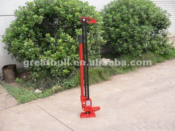 "48"" 3-1/2 Ton Manual Farm Jack with 14kg net weight"