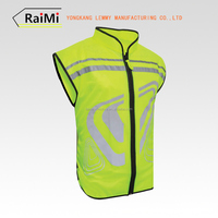New Invention Hi Viz Reflective Running Cycling Vest Outdoor Sports Safety Running Vest