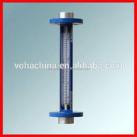 glue joint glass tube rotameter flow meter