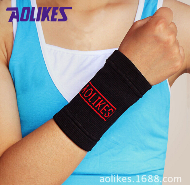 Elastic fitness wrist sweat bands manufacturer