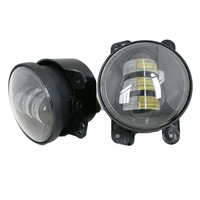 4 Inch 15w LED Fog Light For Jeep Wrangler High Power LED Fog Lamp DRL