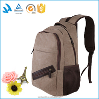 Custom fashion Popular Designer Canvas laptop rolling backpack For College Girls